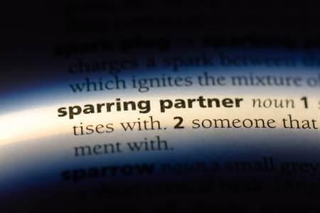 Sparring partner uitgetypt op papier
